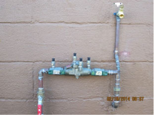 Reduced Pressure Principle Backflow Prevention Device (RP)